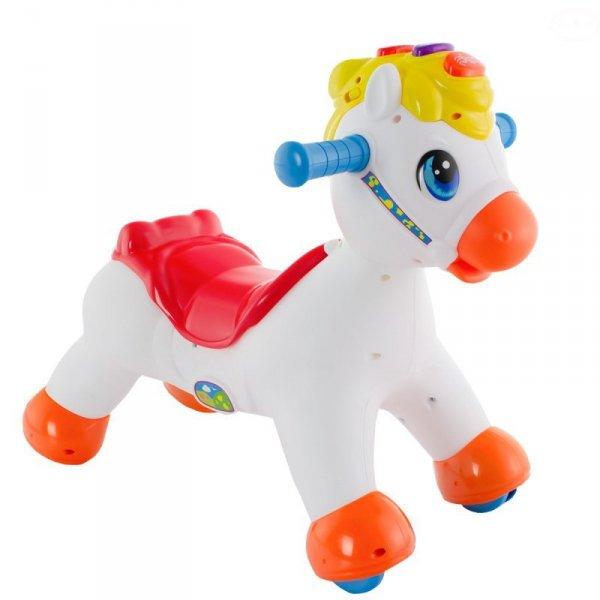 Zabawka koń na biegunach