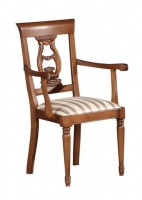 Krzesło rzeźba tron Noblesse 0504