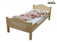 Łóżko Koln 100 x 200, bez pojemnika, kolor Koniak
