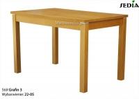 Stół rozkładany do 3 metrów - Grafin