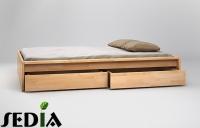 Łóżko drewniane - Topaz