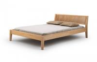 Łóżko drewniane - Grafit