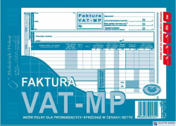 151-3E Fakt.VAT-netto A5 Metoda Kasowa MICHALCZYK
