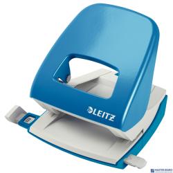 Dziurkacz 5008 LEITZ jasnoniebieski 30 kartek duży metalowy 50080030
