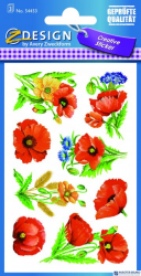 Naklejki ZF Kwiaty       54453 Z-DESIGN CREATIVE