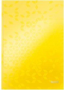 Brulion w kratkę A4 Leitz WOW, żółty 46261116