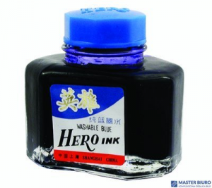 Atrament HERO, niebieski, pojemność 50 ml 160-1003