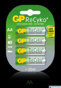 Akumulator NiMH GP AA 1.2V min. 2000mAh GPRHC212B004