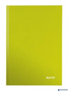 Brulion w kratkę A4 LEITZ WOW zielony 46261164