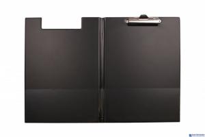 Teczka z klipsem A4 czarna KH-04-03 BIURFOL