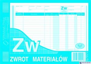 374-3 ZW Zwrot materiałów A5 wilokop.MICHALCZYK I PROKOP