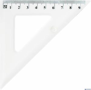 Ekierka szkolna GRAND GR854T 45/10cm transpar 130-1709
