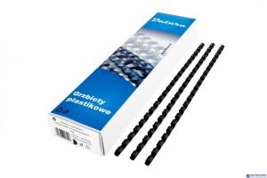 Grzbiet do bindowania DATURA 10mm (100szt) czarny