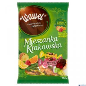 Cukierki WAWEL MIESZANKA KRAKOWSKA galaretki w czekoladzie 1kg