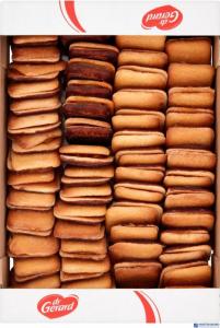 Biszkopty z nadzieniem o smaku morelowym w polewie kakao dr Gerard 650g