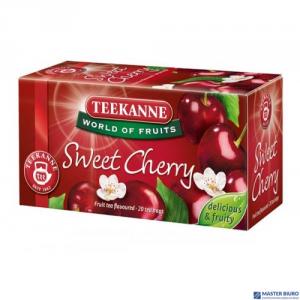Herbata TEEKANNE SWEET CHERRY 20 torebek owocowa