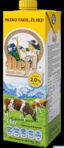 Mleko HEJ UHT 2% 1L
