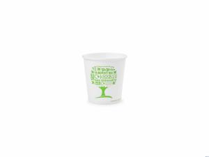 BIO kubek papierowy GREEN TREE 100 ml  (50) LV-4-GT