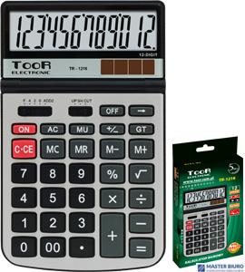 Kalkulator biurowy TOOR TR-1216 12-pozycyjny 120-1835