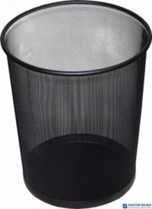 Kosz biurowy DATURA 19L siatka czarny 295x240x343mm