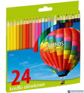 Kredki 24 kol.FRIENDSHIP/UNION /GRAND  170-1377