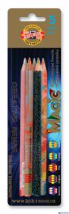 Kredka 3406 MAGIC GRUBA mix(5) blister