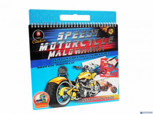 Malowanka 2624-02 szablon+naklejki MAL6 A7