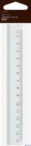 Linijka aluminiowa 15cm GR-120-15 130-1707