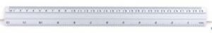 Linijka aluminium 40cm 16cali GR112-40 130-1505