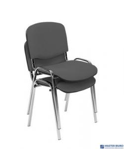 Krzesło konferencyjne ISO black CU-32 zielone