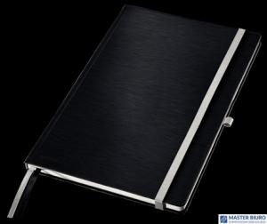 Notatnik twardy LEITZ STYLE A4 kratka czarny 44760094