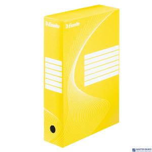 Pudełka archiwizacyjne ESSELTE BOXY 80mm żółte 128413