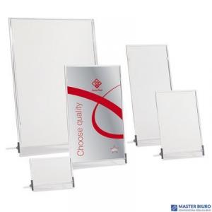 Tabliczka stojąca jednostronna A4 0403-0015-00 PANTA PLAST