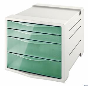 Pojemnik z szufladami ESSELTE COLOURICE zielony 626285