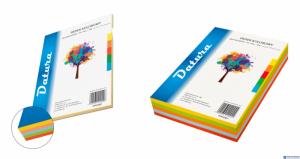 Papier ksero DATURA A4 80g 100ark mix kolorów fluo