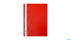 Skoroszyt Biurfol A4 twardy czerwony (20szt) ST-01-01