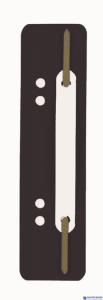 Wąsy do skoroszytu DURABLE Flexi czarne (250szt) 6901-01