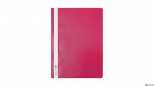 Skoroszyt Biurfol A4 twardy różowy (10szt) SH-00-10
