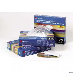 (WYCOFANE)Plastikowe worki REXEL do niszczarek - AS100 (100szt) 40x60 40l (X)
