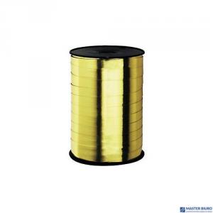 Wstążka błyszcząca złota 10mm x 225m (2)