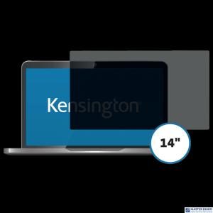 Kensington privacy filter 2 way removable 35.6cm 14 Wide 16:9 626462