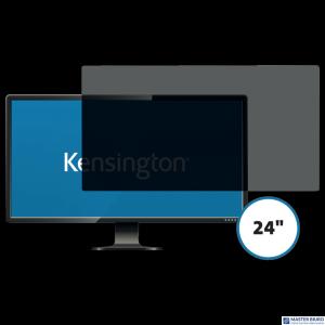 Kensington privacy filter 2 way removable 61cm 24 Wide 16:10 626488