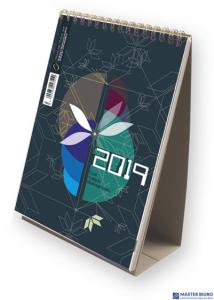 Kalendarz ze spiralką - pionowy  2019 T-101-3-05 Michalczyk i Prokop