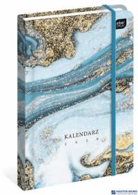 Kalendarz książkowy B6 192str. kamień  INTERDRUK