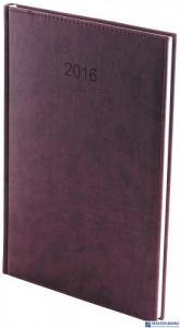 Kalendarz A4 tygodniowy Vivella A4T 011 B-czarny WOKÓŁ NAS
