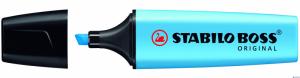 Zakreślacz STABILO BOSS fluorescencyjny niebieski 70/31