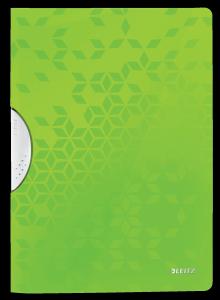 Skoroszyt z klipem A4 LEITZ WOW zielony 41850054