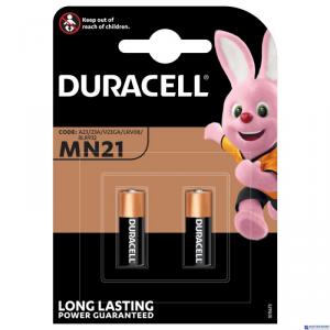 Bateria alkaliczna MN21 12V B2 (2szt)  DURACELL kluczyki alarmy piloty