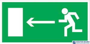 Kierunek do wyjścia drogi ewakuacji lewo Z-3E FS 150x300
