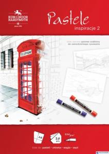 Blok rysunkowy 2 PASTELE A4 20 arkuszy 220g BLO-INPAA2-00505 KOH-I-NOOR